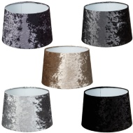 Crushed Velvet Light Shade 11""