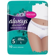 Always Discreet Underwear 10pk - Large