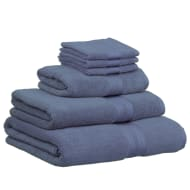 Signature Bath Sheet - Denim