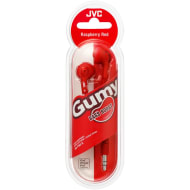JVC Gumy Bass Boost Earphones - Red