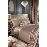 Karina Bailey Liberty Croc Velvet Duvet Set - Double