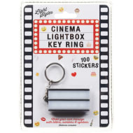 Cinema Light Box Key Ring