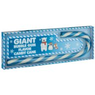 Giant Candy Cane 400g - Bubblegum