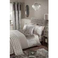 Karina Bailey Vanessa Ripple Velvet Duvet Set - King