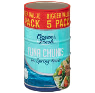 Ocean Fresh Tuna Chunks in Spring Water 5pk