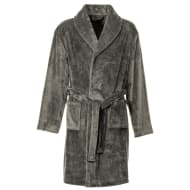Mens Luxury Robe - Grey