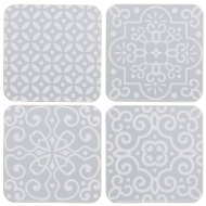 Stylish Coasters 4pk - Geo