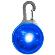 Flashing Dog Tag - Blue
