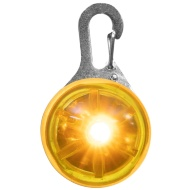 Flashing Dog Tag - Yellow