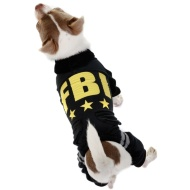 Dog Velour Tracksuit - X-Small - Medium - FBI