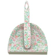 Printed Dustpan & Brush - Pink Floral