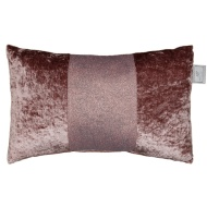 Sparkle Crushed Velvet Cushion - Blush