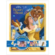 Beauty & the Beast Stationery Book Tin
