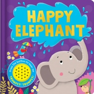 Sound Board Book - Happy Elephant