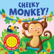 Sound Board Book - Cheeky Monkey