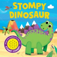 Sound Board Book - Stompy Dinosaur