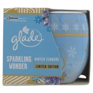 Glade Sparkling Wonder Candle - Winter Flowers