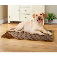 WarmAPet Thermal Dog Mattress - Brown
