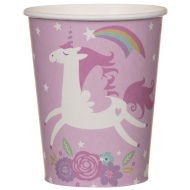 Paper Cups 20pk - Unicorn