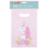 Kids Party Loot Bags 20pk - Unicorns