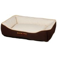 WarmAPet Self Heating Thermal Dog Bed - Cream