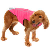 Reflective Sports Dog Coat - Small - Large - Pink