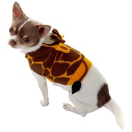 Dog Animal Jumper - X-Small - Small - Giraffe