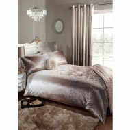 Full Ombre Velvet Duvet Set - Double