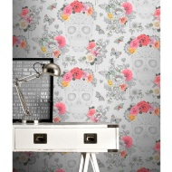 Sugar Skulls Wallpaper - Grey