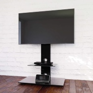 Blaupunkt TV Stand with Brackets - Black