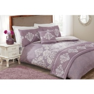 Darcy Damask Bed Set - Double