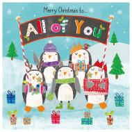 All of You Penguins - Christmas Card