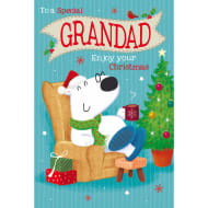 To a Special Grandad - Christmas Card