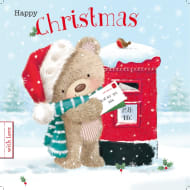 Happy Christmas Bear- Christmas Card
