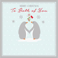 Penguins - Christmas Card