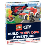 LEGO City Build Your Own Adventure - Firefighter & Fire Truck