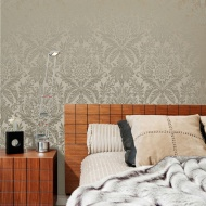 Signature Damask Wallpaper - Biscuit