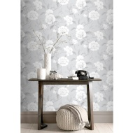 Boutique Wallpaper - Grey