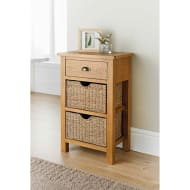 Wiltshire Oak Small Console Table