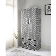 Spaceways 2 Door Canvas Wardrobe - Moroccan