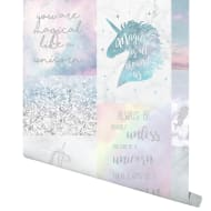 Believe in Unicorns Wallpaper - Multi
