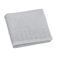 Lurex Pleated Hand Towel - Grey