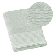 Lurex Pleated Bath Towel - Mint