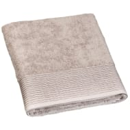 Lurex Pleated Bath Sheet - Fawn