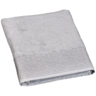 Lurex Pleated Bath Sheet - Grey