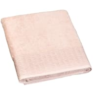 Lurex Pleated Bath Sheet - Apricot