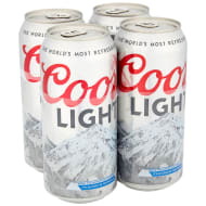 Coors Light Lager 4 x 440ml