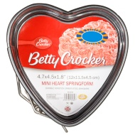 Betty Crocker Non-Stick Springform Cake Tin - Heart