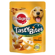 Pedigree Tasty Bites Crunchy Pockets - Chicken