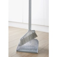 Dustpan & Brush with Printed Handle - Geo